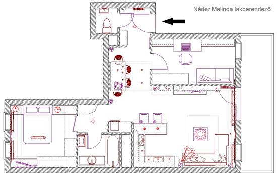 5 Szobás családi ház tervek