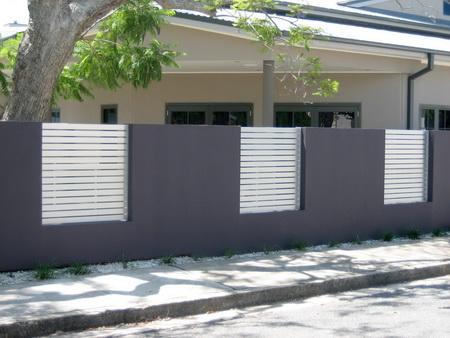 Milyen legyen a ker t s t rform l magazin - Concrete fence models design ...