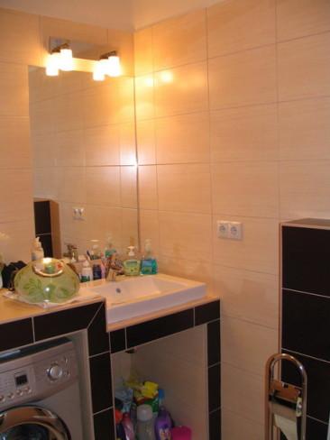 55 nm-es lakás felújítása, fürdőszoba (fotók)