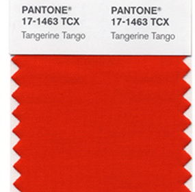 2012 divatszíne: Tangerine Tango