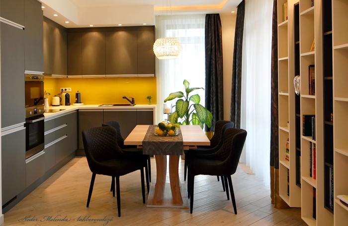 80 nm-es budapesti lakás tervezése