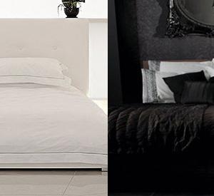 Hófehér vagy koromfekete hálószoba