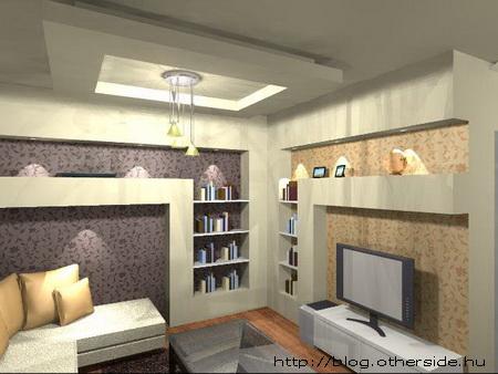 110 nm-es családi ház (látvány tervek)