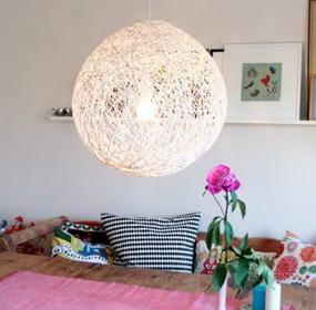 DIY: gömb lámpa