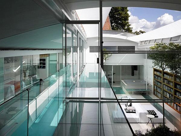 Fantasztikus ház London Rózsadombján