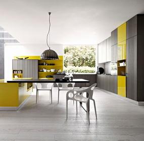 Modern konyhák olasz módra