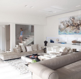 Ultramodern otthon a Földközi-tenger partján