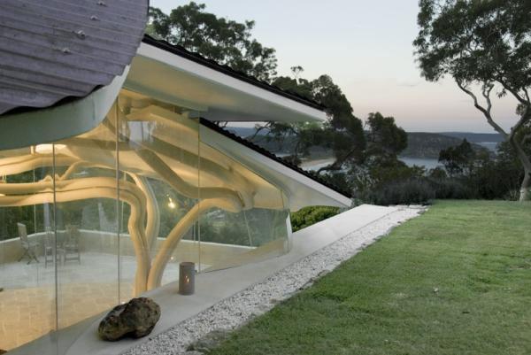 Így készült a lapulevél ház