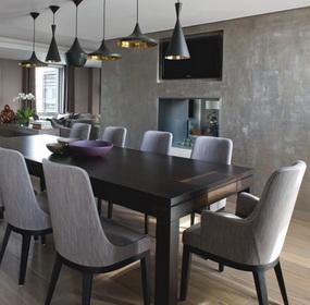 Kétszintes penthouse lakás Londonból