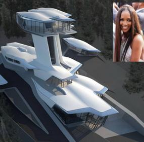Naomi Campbell új háza