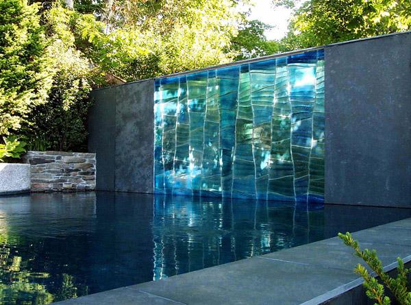 Kültéri üvegművészet