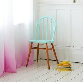 Csináld magad színátmenetes függöny