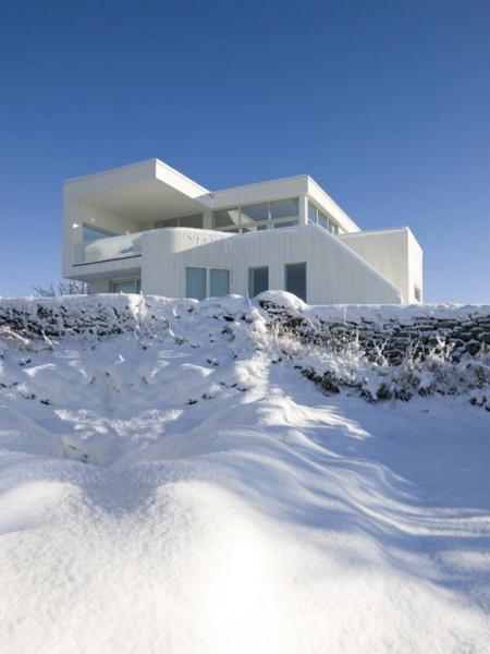 Hófödte háztetők