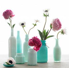 Üres üvegek újrafelhasználása a lakásban